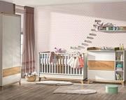 ATB Nordik pokój dziecięcy ( łóżeczko 120x60 + komoda z przewijakiem + szafa ) Kurier gratis przy przedpłacie