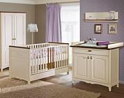 ATB Prowansja pokój niemowlęcy ( łóżeczko 140x70 + komoda z przewijakiem + szafa ) Kurier gratis przy przedpłacie