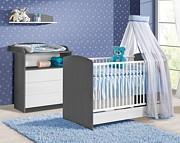 ATB Sweet pokój dziecięcy ( łóżeczko z szufladą 120x60 + komoda z przewijakiem ) Kurier gratis przy przedpłacie
