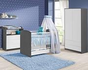 ATB Sweet pokój dziecięcy ( łóżeczko z szufladą 120x60 + komoda z przewijakiem + szafa + półka ) Kurier gratis przy przedpłacie
