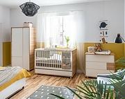 Baby Vox  Evolve pokój dziecięcy (łóżeczko 140x70 + komoda z przewijakiem + szafa 2 drzwiowa) / Kurier gratis przy przedpłacie