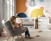 Baby Vox Milk pokój dziecięcy (łóżeczko tapczanik 140x70 + komoda + przewijak) / Kurier gratis przy przedpłacie.