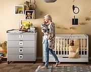Baby Vox Simple pokój dziecięcy (łóżeczko 140x70 z szufladą + komoda z przewijakiem) / Kurier gratis przy przedpłacie.