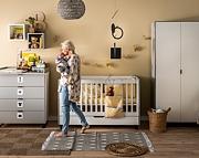 Baby Vox Simple pokój dziecięcy (łóżeczko 140x70 z szufladą + komoda z przewijakiem +  szafa) / Kurier gratis przy przedpłacie