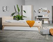 Bellamy So Sixty pokój młodzieżowy (łóżko 200x90cm z szufladą +biurko + szafka + szafa) Kurier gratis przy przedpłacie