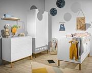 Bellamy Toteme Cube pokój dziecięcy (łóżeczko sofa 140x70 + komoda + szafa) / Kurier gratis przy przedpłacie