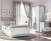 Lenart Story pokój młodzieżowy (łóżko 200x90 z materacem + szafa dwudrzwiowa + komoda dwudrzwiowa) / KURIER GRATIS