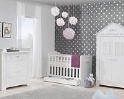 Pinio Marsylia pokój dziecięcy (łóżeczko 120x60+szafa 1 drzwi+komoda+przewijak). KURIER GRATIS! 15% taniej do 30 kwietnia.