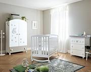 Pali Little Royal B Pokój dziecięcy (łóżeczko 124x64 cm + komoda kąpielowa + szafa 2 drzwiowa) Boutique line / Kurier Gratis