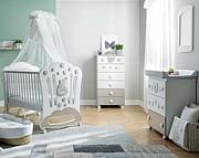 Pali Royal B Pokój dziecięcy (łóżeczko 124x64 cm + komoda kąpielowa + komoda wysoka) Boutique line / Kurier Gratis
