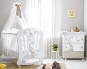 Pali Savana pokój dziecięcy ( łóżeczko z opuszczanym bokiem 124x64 cm + komoda kąpielowa) / Kurier Gratis