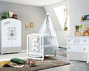 Pali Teddy B Pokój dziecięcy (łóżeczko 124x64 cm + komoda z szufladami+ szafa 2-drzwiowa) Boutique line / Kurier Gratis