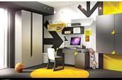 Timoore Beep Pokój dla ucznia (tapczanik 200x90 + biurko + szafa 2 drzwiowa) / KURIER GRATIS