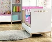 Timoore Elle Special pokój niemowlęcy (łóżeczko 120x60 + komoda 2 szufladowa + szafa dwudrzwiowa) / KURIER GRATIS