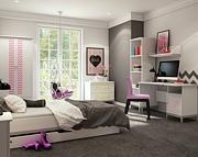 Timoore Elle Special pokój ucznia (łóżko tapczanik 180x80cm + komoda 2 szuflady + szafa dwudrzwiowa + biurko) / KURIER GRATIS