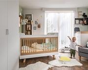 Baby Vox 4 You pokój dziecięcy biały (łóżeczko tapczanik 140x70 + komoda z przewijakiem + szafa 2 drzwiowa) *Kurier gratis