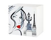 Klupś Top Paris szafka wisząca z nadrukiem.