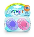 Avent smoczek do uspokajania 0-6 sensitive   2 sztuki mix kolor�w
