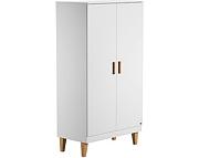 Baby Vox Lounge szafa 2 drzwiowa / kolor biały / / Kurier gratis przy przedpłacie