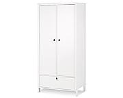 Klupś Leon szafa 2-drzwiowa / kolor biały.