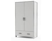 Timoore Manhattan szafa 2 drzwiowa z szufladą / kolor biały