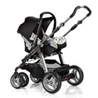 Adapter(9912)Hartan do fotelików Maxi Cosi Cabrio,Pebble,BeSafe Izi Go,Cybex Aton,Kiddy Evolution,Recaro Privia 2014-2019