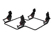 Adapter Universal do fotelików Maxi Cosi Besafe Cybex do wózków Danny Sport 5 Twin/ Prestige 2 Twin/ Twin Linen Line /Twin Quick