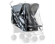 PROMOCJA Folia przeciwdeszczowa do wózków bliźniaczych Hauck (Turbo Duo, Roadster Duo SL/SLX) (550069)