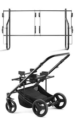 Adaptador Duo M para montar asientos de coche Maxi Cosi en un cochecito doble Jedo Duo