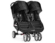 PROMOCJA!! Baby Jogger City Mini Double (bliźniak) 2016 kol. Black Gray GRATIS KURIER