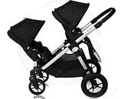 PROMOCJA! Baby Jogger City Select wózek dla rodzeństwa (spacerówka+ dodatkowe siedzisko) kolor Onyx GRATIS KURIER