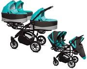 BabyActive Trippy Premium 2w1 (stelaż + 3 x spacerówka + 3 x gondola) 2019 GRATIS KURIER