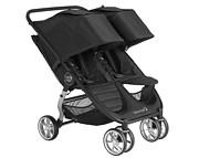 PROMOCJA! Baby Jogger City Mini Double 2 (spacerówka dla bliźniąt)   Jet / KURIER GRATIS