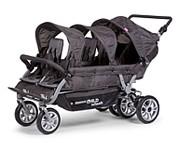 Childhome Childwheels Sixseater Autobreak wózek dla sześcioraczków hamulec ręczny / KURIER GRATIS