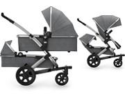 Wózek Joolz Geo 2  DUO Studio (stelaż + siedzisko spacer górne + siedzisko dolne + gondola dolna + gondola górna) 2018 KURIER GR