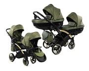 Junama Saphire Duo Slim wózek dla bliźniąt 2w1 (stelaż + 2x spacerówka + 2x gondola) 2021 KURIER GRATIS