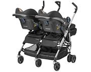 Maxi Cosi Dana For2 wózek dla bliźniąt (2x spacerówka + 2x Maxi Cosi Cabrio) 2019 KURIER GRATIS