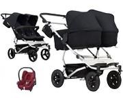 PROMOCJA Mountain Buggy Duet 3 3w1 (stelaż + 2x siedzisko spacerowe + 1x gondola plus + 1x fotelik Cabrio) KURIER GRATIS
