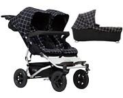 Mountain Buggy Duet 3 wózek dla rodzeństwa  (stelaż+ 2x siedzisko spacerowe+ 1x gondola plus) 2018 KURIER GRATIS