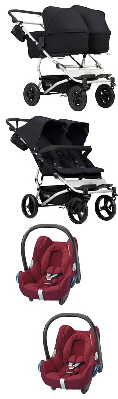 Mountain Buggy Duet 3 opinie
