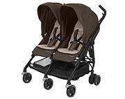 Maxi Cosi Dana For2 (wózek spacerowy dla bliźniąt) nomad brown 2019