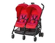 Maxi Cosi Dana For2 (wózek spacerowy dla bliźniąt) red orchid 2019