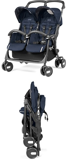Bliźniak Peg-Perego Aria Shopper Twin Classico (spacerówka) 2019