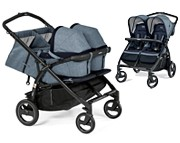 2w1 Peg-Perego Book For Two 2019 (spacerówka+ 2x Miękka  gondola) KURIER GRATIS
