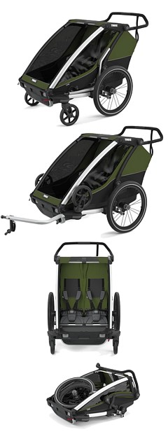 Thule Chariot Cab 2 opinie