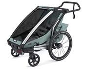 Thule Chariot Cross 1 wózek /przyczepka rowerowa kolor alaska 2021 KURIER GRATIS