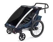 Thule Chariot Cross 2 wózek /przyczepka rowerowa kolor majolica blue 2021 KURIER GRATIS
