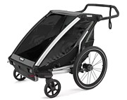 Thule Chariot Lite 2 podwójna przyczepka rowerowa kolor Agave/Black 2021 KURIER GRATIS