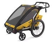 Thule Chariot Sport 2 Przyczepka rowerowa kolor spectra yellow on black 2021 KURIER GRATIS