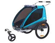 Thule Coaster XT Przyczepka rowerowa kolor blue 2021 KURIER GRATIS